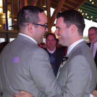 Wedding: Matt and Justin at Glenora Wine Cellars, Dundee, 10/24/15