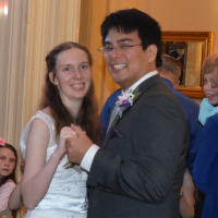 Wedding: Megan and Tat at Lincklaen House, Cazenovia, 5/12/18