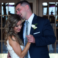 Wedding: Liz and Brian at Marriott Syracuse Downtown – Grand Ballroom, 7/27/19